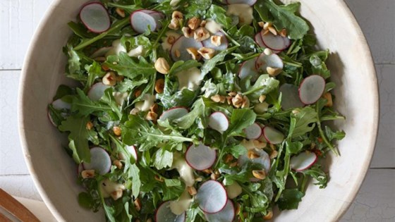Photo of Baby Arugula with Radishes & Hazelnuts by Hidden Valley®