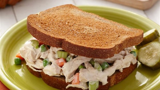 Photo of Garlic Chicken Salad Sandwiches by Hidden Valley®
