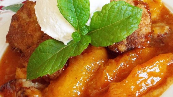 Photo of Fresh Southern Peach Cobbler by aeposey
