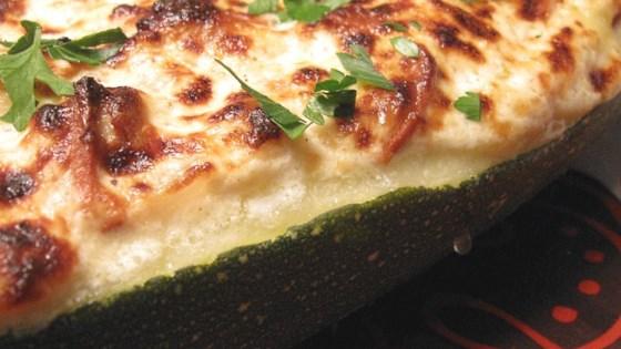 Photo of Pepperoni Stuffed Zucchini by SINGINGCHEF