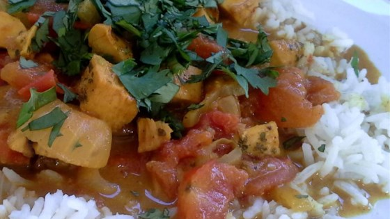 Photo of Fragrant Chicken Curry by USA WEEKEND columnist Pam Anderson