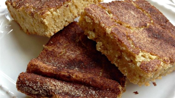 Photo of Snickerdoodle Blondies by Jenn