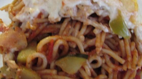 Photo of Veggie Spaghetti by Nancy R