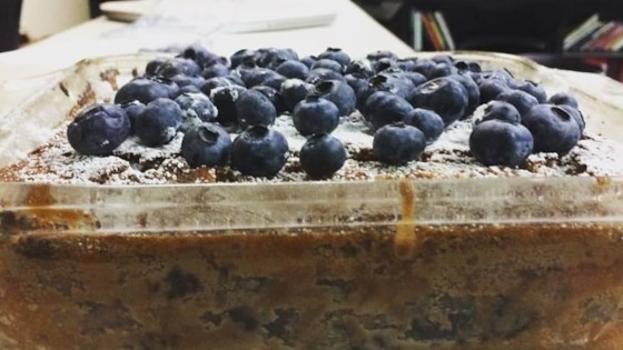 Cocoa Blueberry Cake