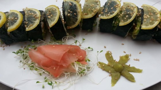 Photo of Avocado Sushi with Brown Rice by Heather: Healthy Vegan Recipes