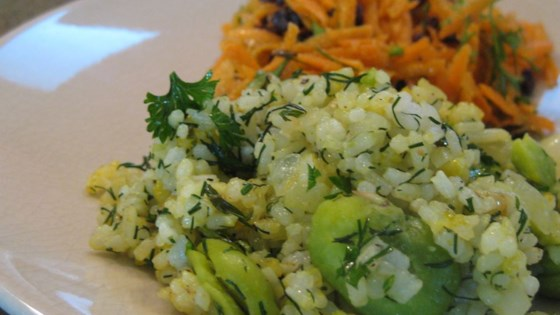 Photo of Persian Sabzi Polo (Herb Rice with Fava Beans) by GONDWANA