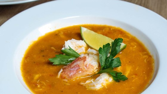 Photo of Chilapachole (Spicy Tomato Crab Soup) by Swanson®