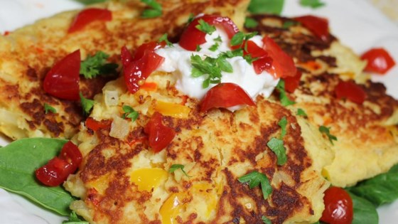 Photo of Veggie Griddle Cakes by sal