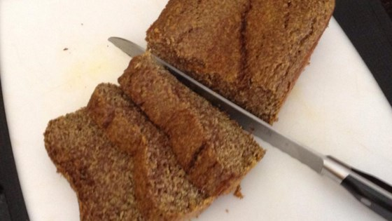 Photo of Gluten-Free Pumpkin-Flax Seed Bread by Mirby