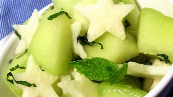 Photo of Jicama and Melon Salad by Basil Babe