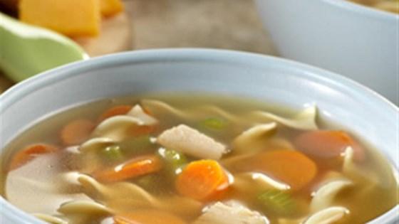 Photo of Sensational Turkey Noodle Soup by Swanson®