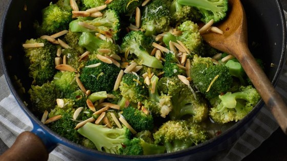 Spicy Broccoli with Parmesan Cheese
