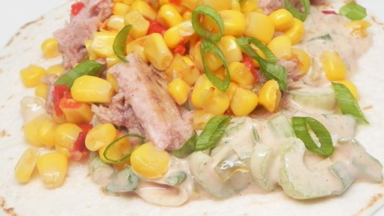 Photo of Quick BBQ Tuna Tacos by white_bread