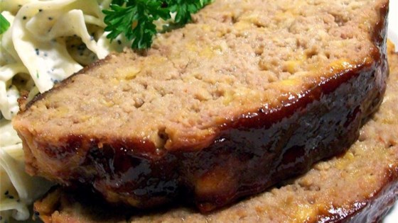 Photo of Incredibly Cheesy Turkey Meatloaf by Brooke Salt
