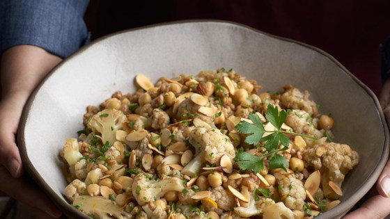 Photo of Cauliflower Chickpeas and Farro by Swanson®