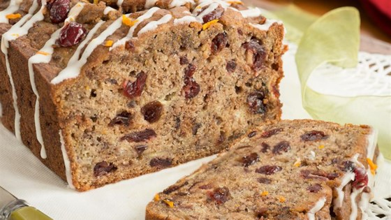 Photo of Cranberry-Orange Pumpkin-Spice Banana Bread by I Can't Believe its Not Butter!