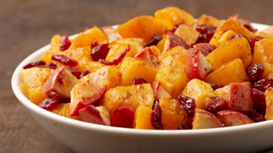 Photo of Butternut Squash with Apple and Cranberries by I Can't Believe its Not Butter!