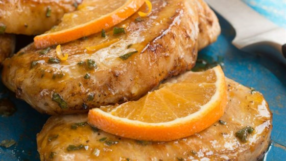Photo of Orange-Sage Pork Chops by I Can't Believe its Not Butter!