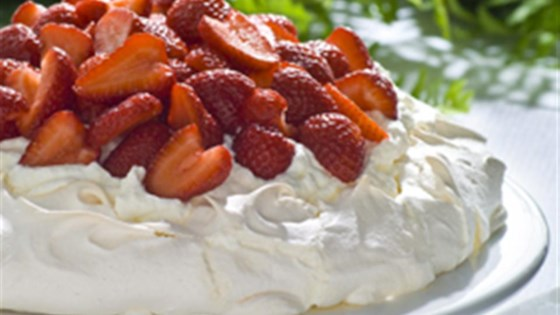 Photo of Strawberry Pavlova by Egg Farmers of Ontario