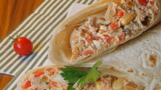 Photo of Tuna Fish Wraps by Blackwidow