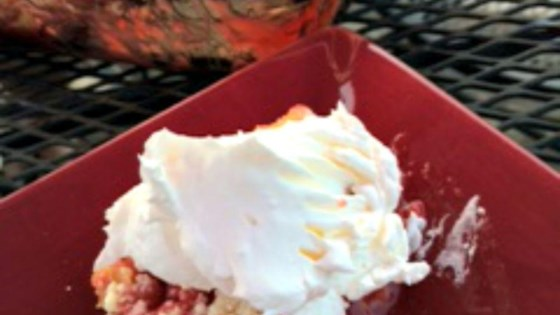 Photo of Strawberry-Rhubarb Cobbler by cstillings24