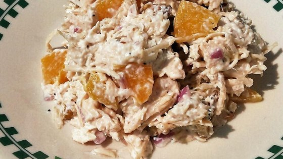 Photo of Creamy Chicken Salad with Peaches by MrsJPS