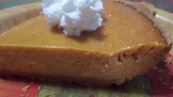 Photo of Pumpkin Cheese Pie with Condensed Milk by Diana Taylor