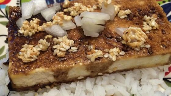Sesame Seed Baked Tofu