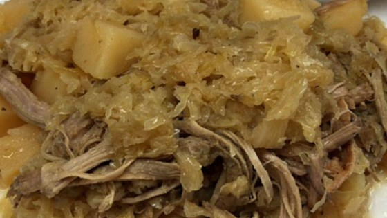 Photo of Slow Cooker Pork and Sauerkraut by Amian