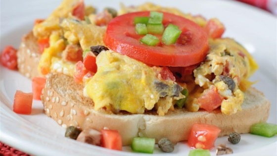Photo of Eggs Creole Over Toast by cassiopeia222