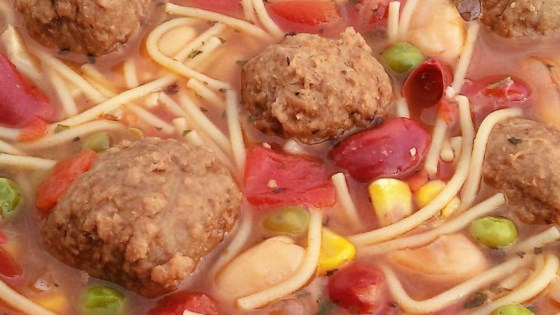 Photo of Quick 'n Easy Meatball Soup by groovinchic