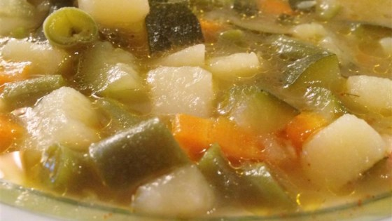 Photo of Absolutely Wonderful Chicken Vegetable Soup by Pamela Merrell