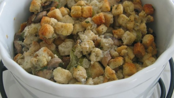 Photo of Slow Cooker Stuffing by Gayle Wagner