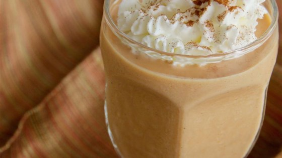 Photo of Pumpkin Pie Smoothie for 2 by AddedSugarFreeME
