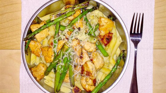 Photo of Asparagus, Chicken and Penne Pasta by JWEARY15