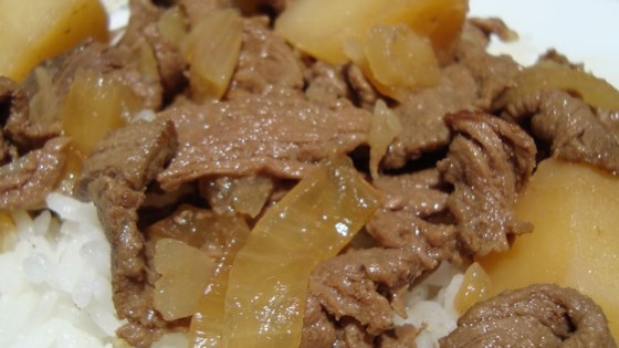 Photo of Nikujaga (Japanese-style meat and potatoes) by Hinata