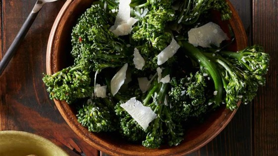 Photo of Roasted Broccolini with Garlic and Parmesan by Reynolds Kitchens®