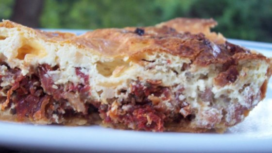 Photo of Sausage and Sun-Dried Tomato Quiche by Stephanie