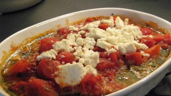 Photo of Baked Shrimp with Feta and Tomato by Laura Dobbins Corbett