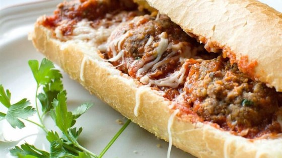 Meatball Sandwich Recipe Allrecipes Com