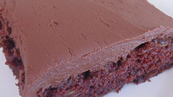 Photo of Frosted Zucchini Brownies by asertell