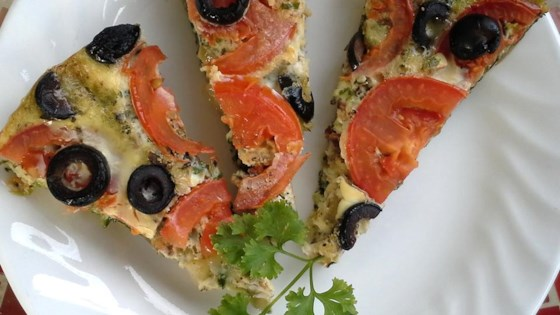 Photo of Vegetable Pizza Frittata by ann marie