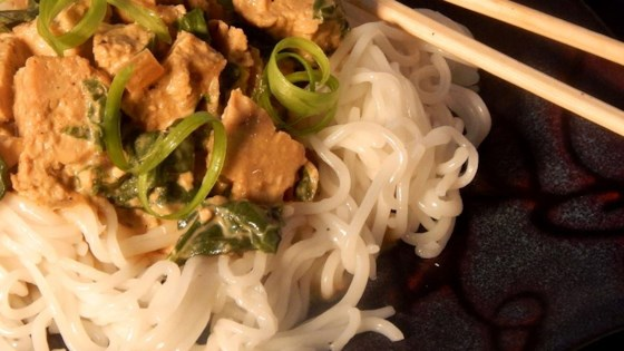 Photo of Seitan in Peanut Sauce or Vegetarian Gai Tua by Andi Martin