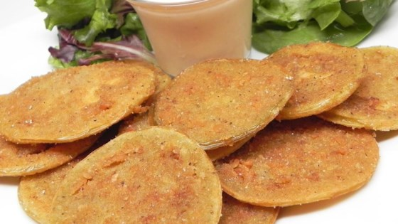 Photo of Barb's Fried Green Tomatoes with Zesty Sauce by Barbara