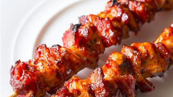 Photo of Chipotle BBQ Chicken Skewers by Musselman's® Apple Butter