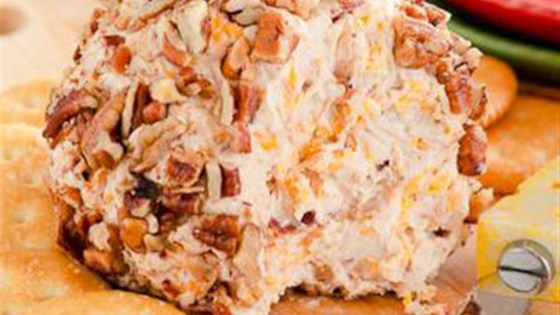Photo of Pecan Crusted Apple Butter and Bacon Cheese Ball by Musselman's® Apple Butter