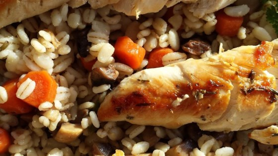 Barley Chicken Casserole