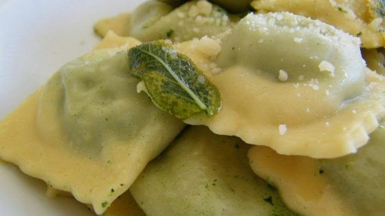 Photo of Spinach, Feta, and Pine Nut Ravioli Filling by Matthew Valleau