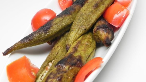 Photo of Summer's Best Grilled Okra by HappyGrandma