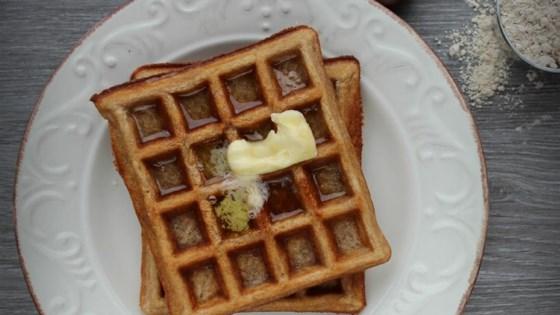 Photo of Gluten-Free Sourdough Chestnut Waffles by Buckwheat Queen